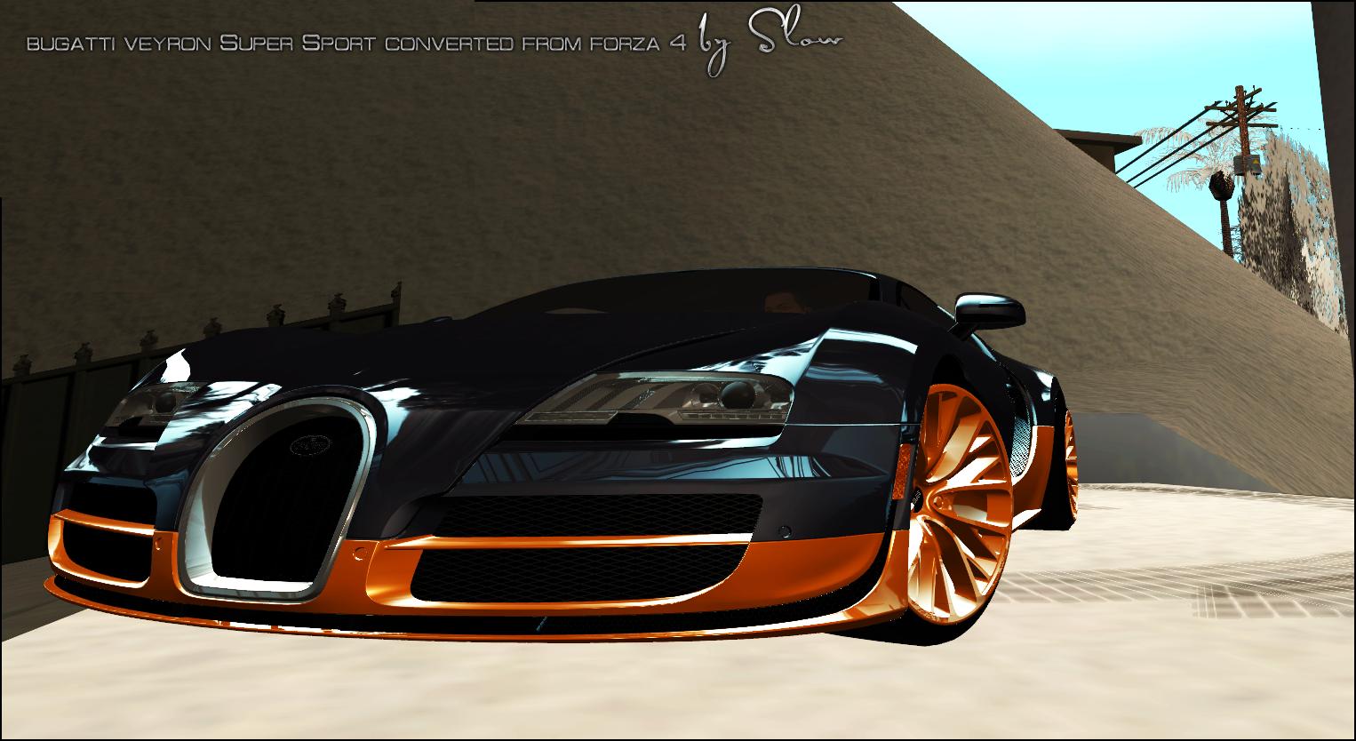 Forza Bugatti Veyron
