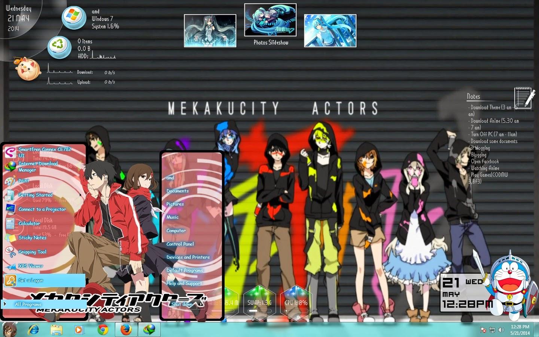 Mekakucity Actors Theme win 7