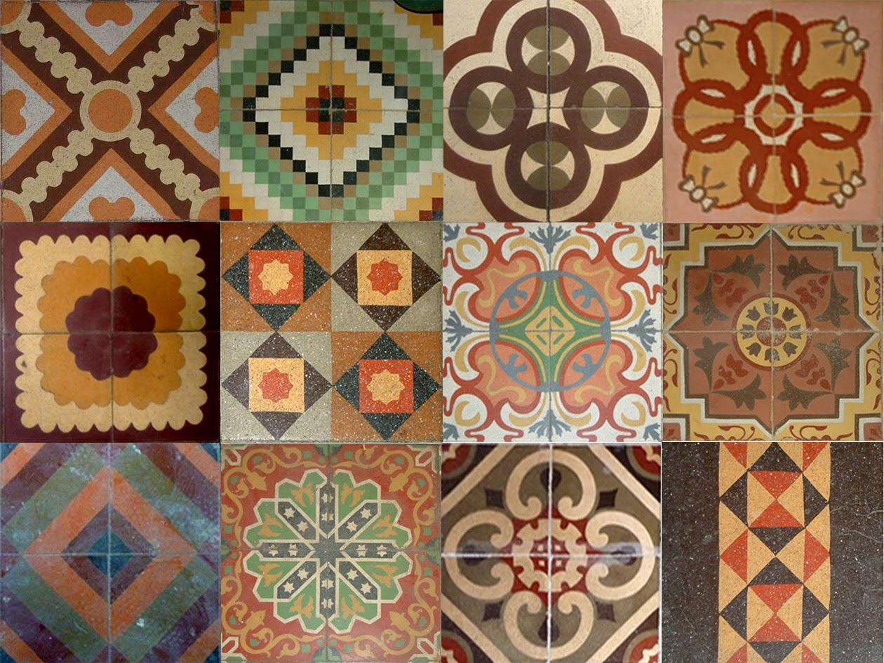 Baldosas ba o gresite for Tipos de azulejos