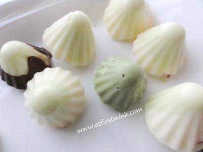 Home-made Japanese Meiji Kinoko no yama chocolates