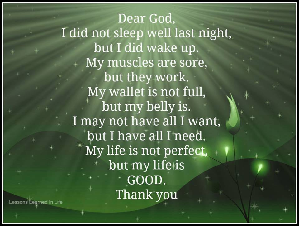 I Am Grateful To God Quotes Night Quotes About God...