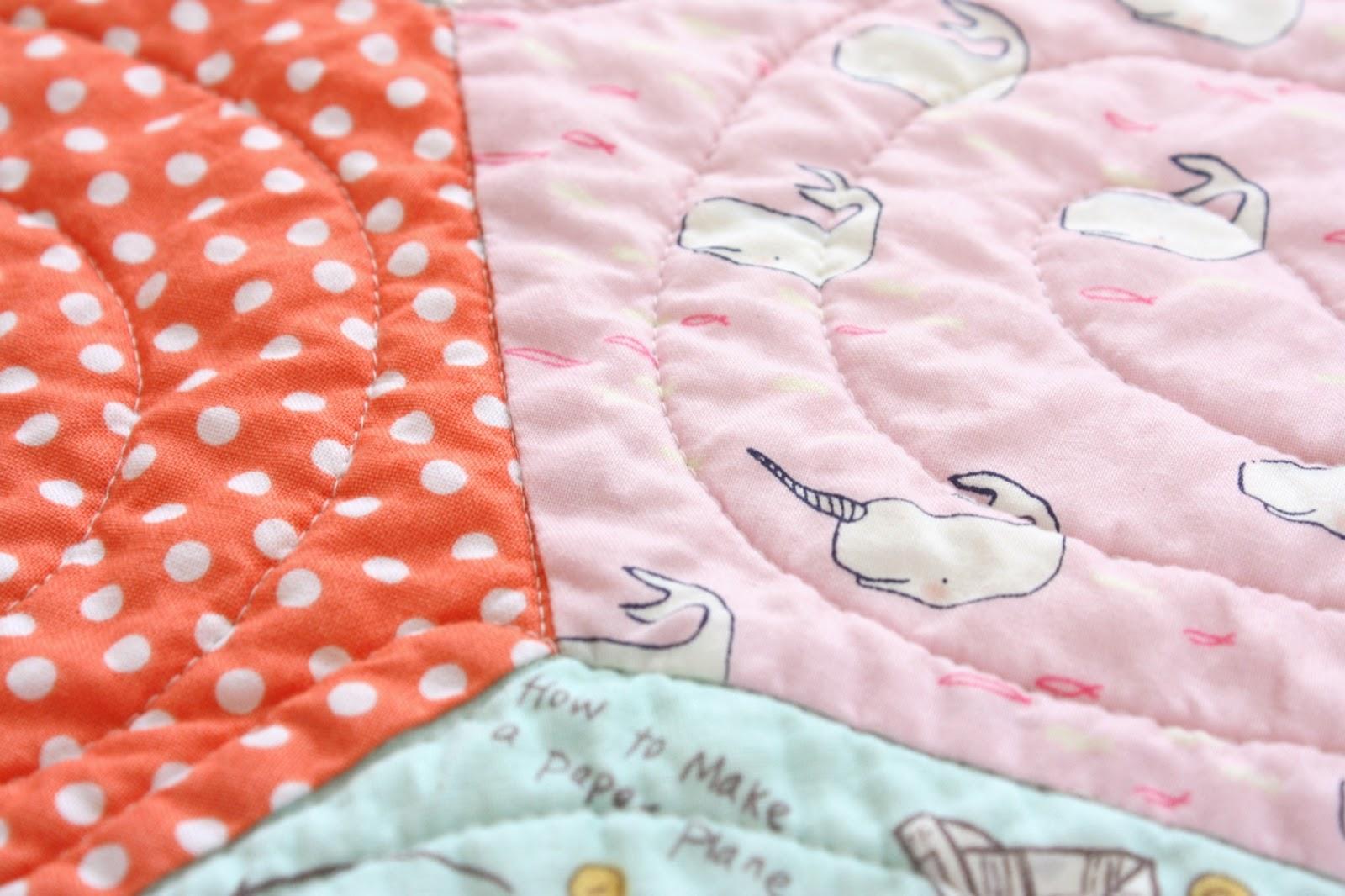Hexagon baby quilt : hexagon baby quilt - Adamdwight.com
