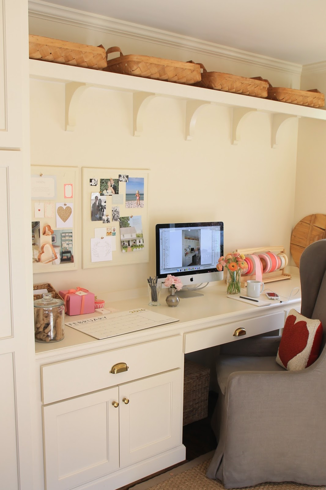 My Office Space... In The Mudroom : )