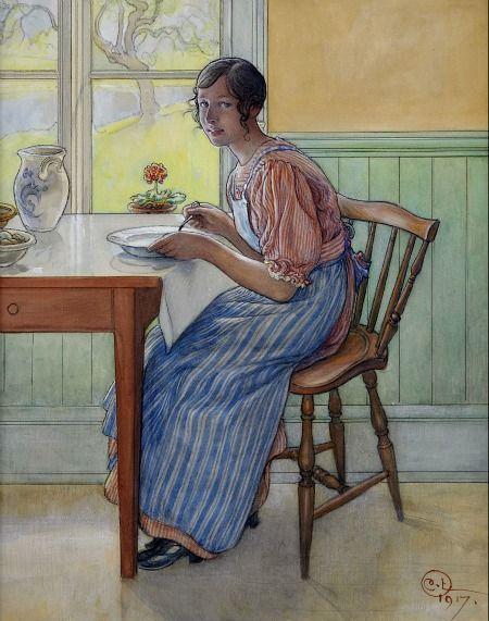 Carl Larsson, 1917