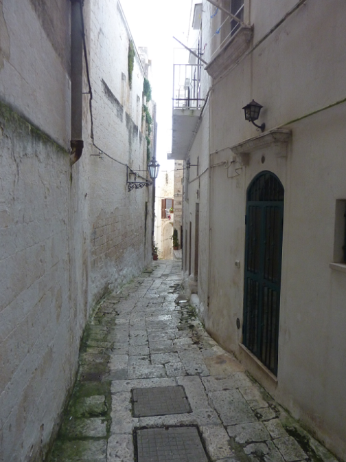 Ostuni Residential Street, Puglia