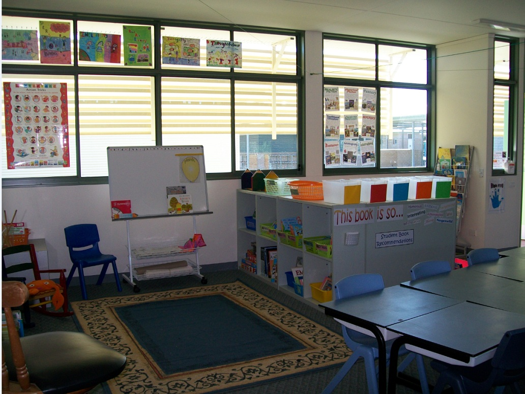 Classroom window - You Can Almost See The Front Door To The Right Of The Photo The Long Vertical Window Looks
