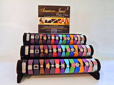 American Jewel Hair Ties
