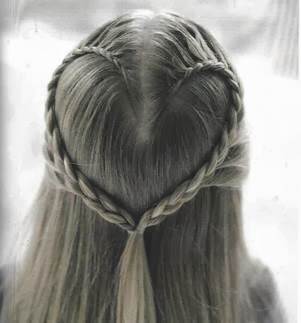 Steps to Creating a Heart Braid