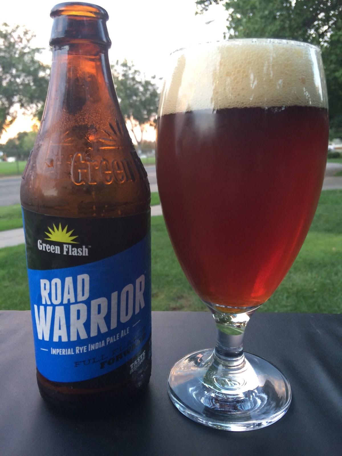 Green Flash Road Warrior Imperial Rye IPA 1