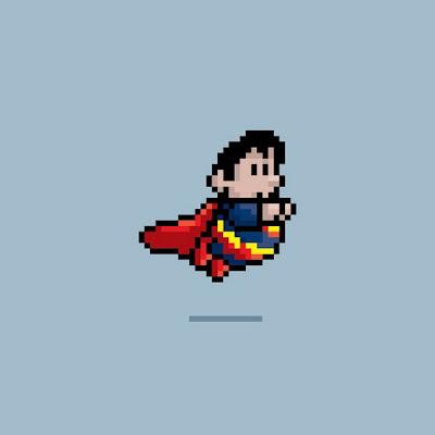 Wallpaper-Superman-8-bits