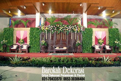 Dekorasi pelaminan rias pengantin surabaya dekorasi pelaminan di gedung juang surabaya junglespirit Choice Image