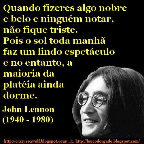 John Lennon, frases e citações