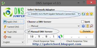 Cara Menggunakan DNS Jumper untuk membuka situs yang diblokir dan untuk mempercepat koneksi internet