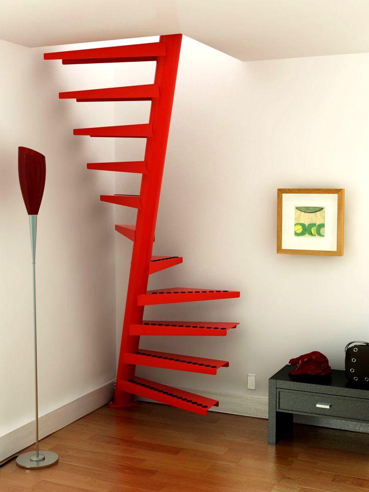 Todav a no sabes lo que te gustan las escaleras de caracol cositas decorativas estudio de - Medidas escaleras de caracol ...