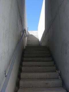 escalera Parque de Valdefierro Zaragoza