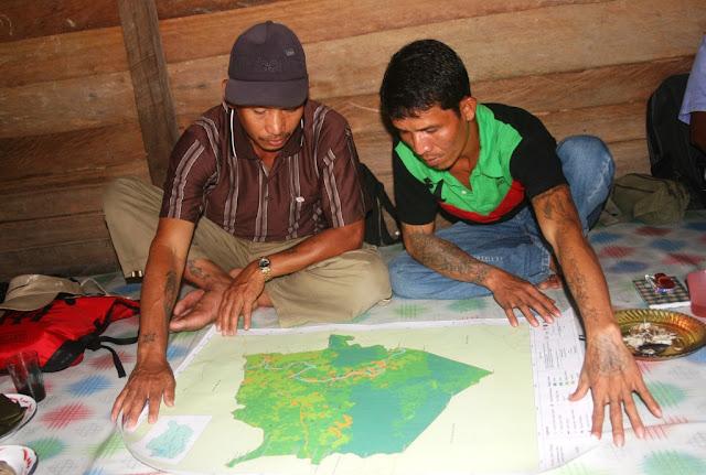 Masyarakat Adat Lengkapi One Map Indonesia