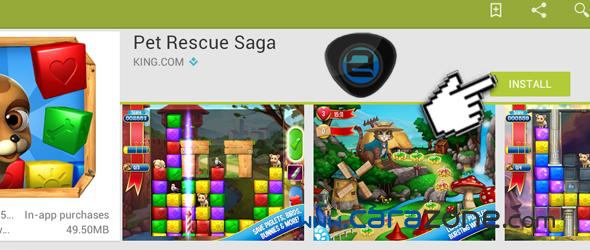 Cara Main Pet Rescue Saga for PC