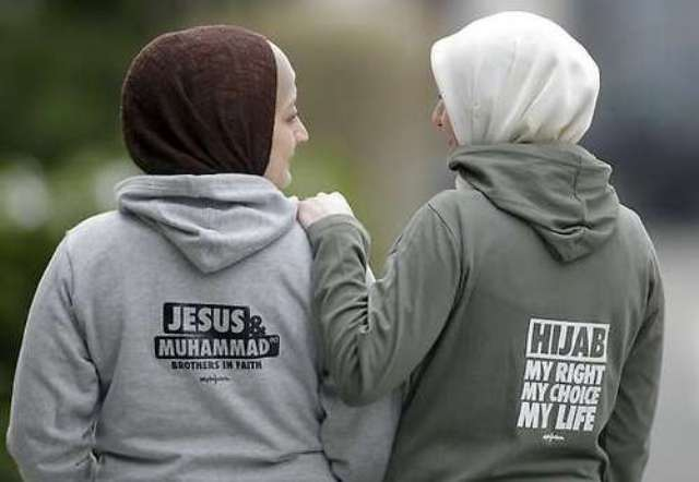 jesus and muhammed are brothers says muslim activists