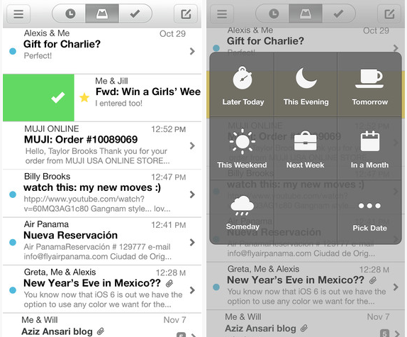 Best IOS 7 Mail App