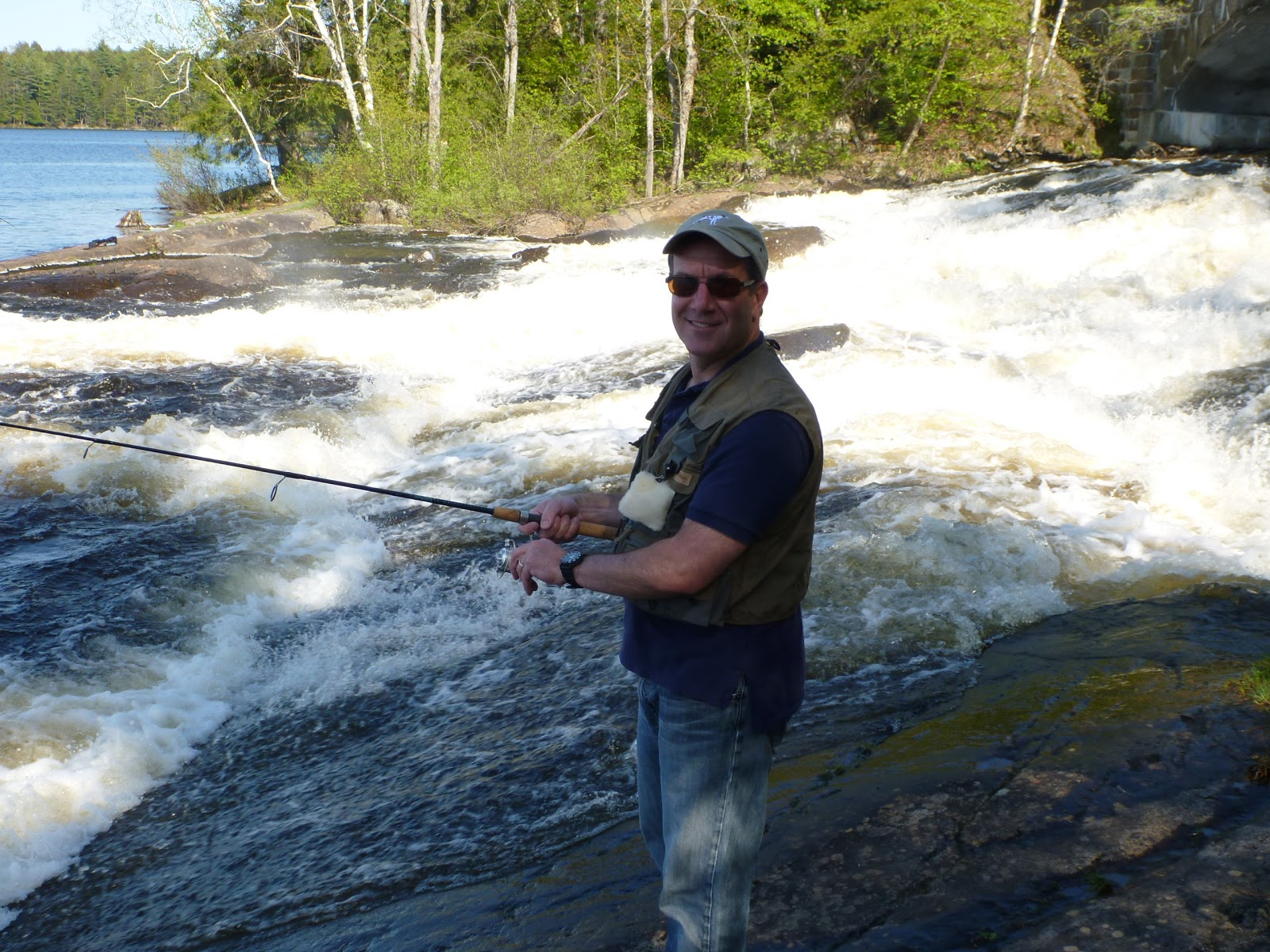 Sporting afield outdoor report december 2012 for Falls lake fishing report