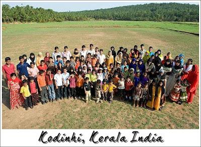 kodinhi, kerala india merupakan 3 kampung paling ramai pasangan kembar di dunia
