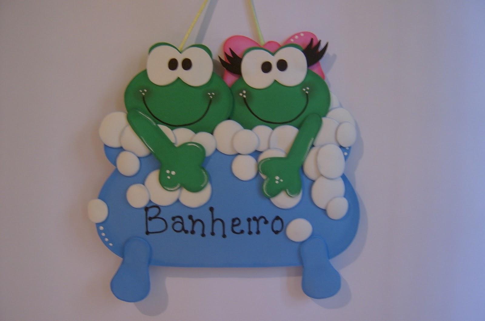 Fada do Dente  Artesanato EVA Plano -> Decoracao De Banheiro Infantil Com Eva
