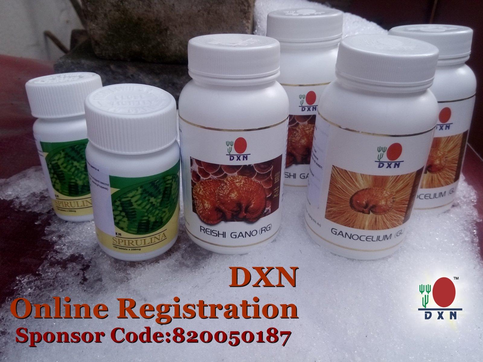 DXN - Registration