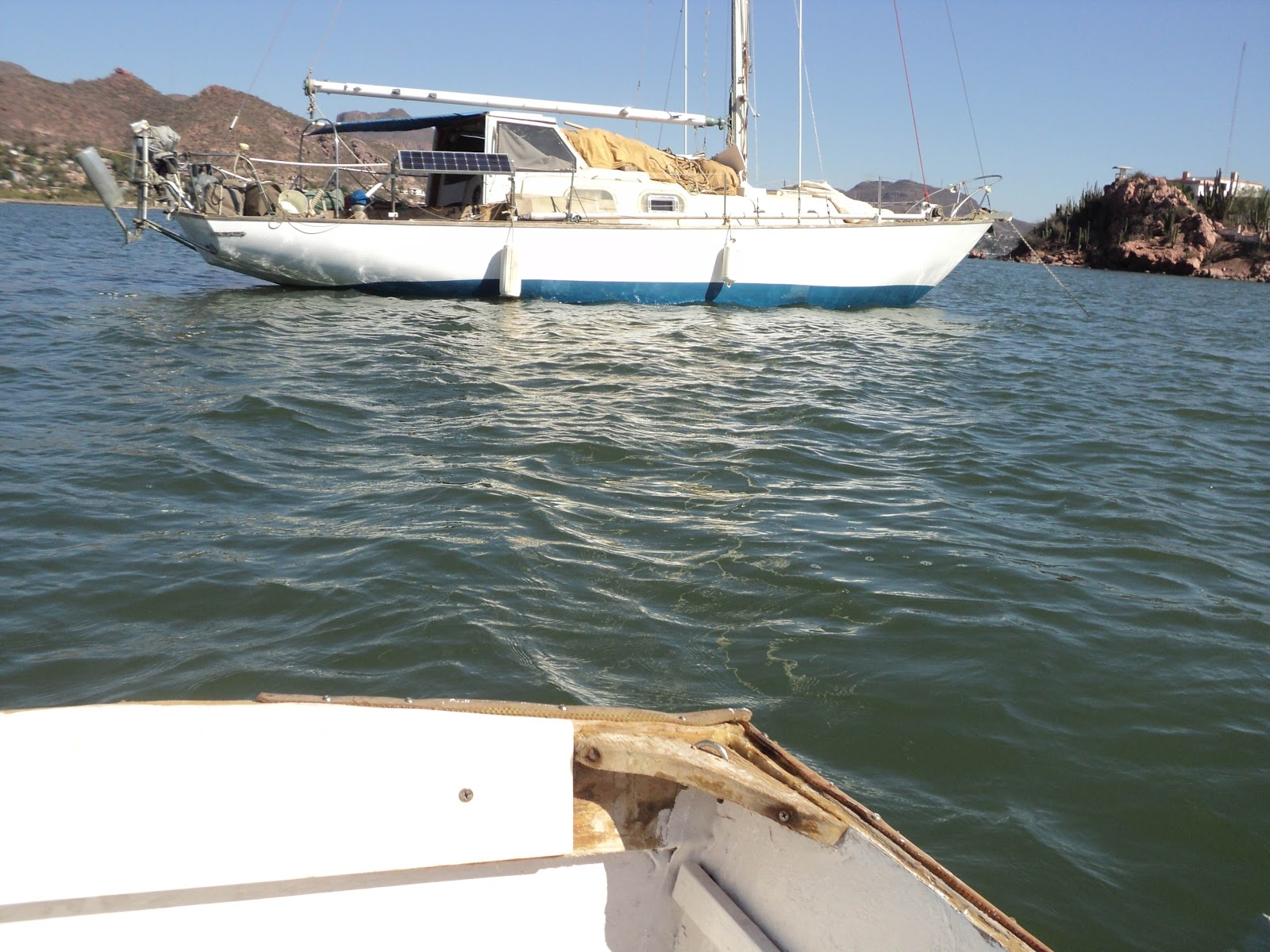 Sailing a Pearson Alberg 35