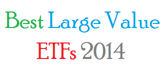 Best Performing Large Value ETFs 2014