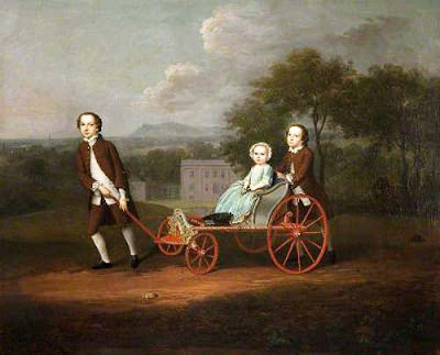 Художник Артур Дэвис (Arthur Devis). Richard, Mary and Peter du Cane