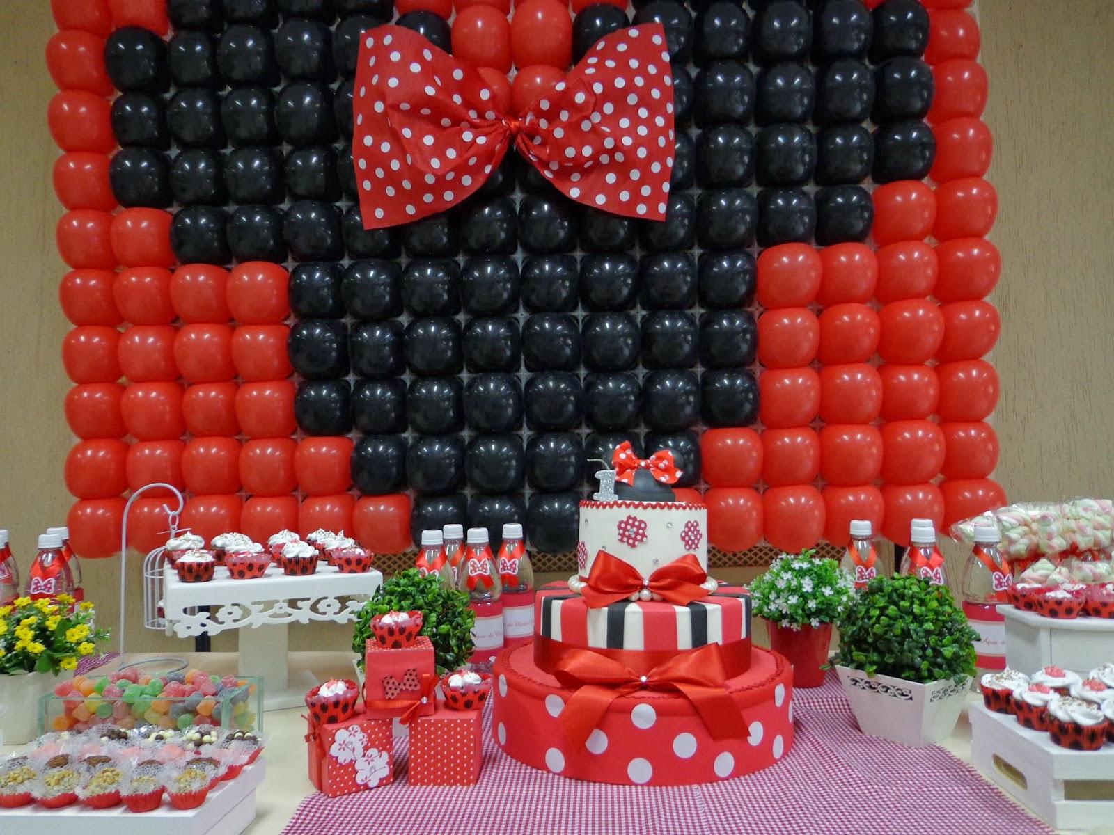Festa Infantil Personalizada Santo André ABC Decoração Minnie
