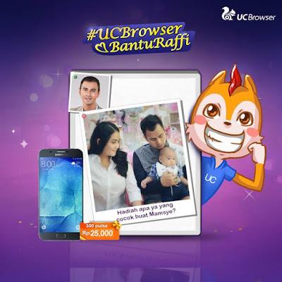 """Info Kuis - Kuis UC Browser """"Ide Hadiah Rafi Untuk Gigi"""""""