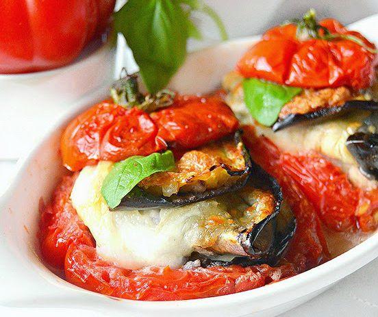 Pomodori Farciti Alla Parmigiana