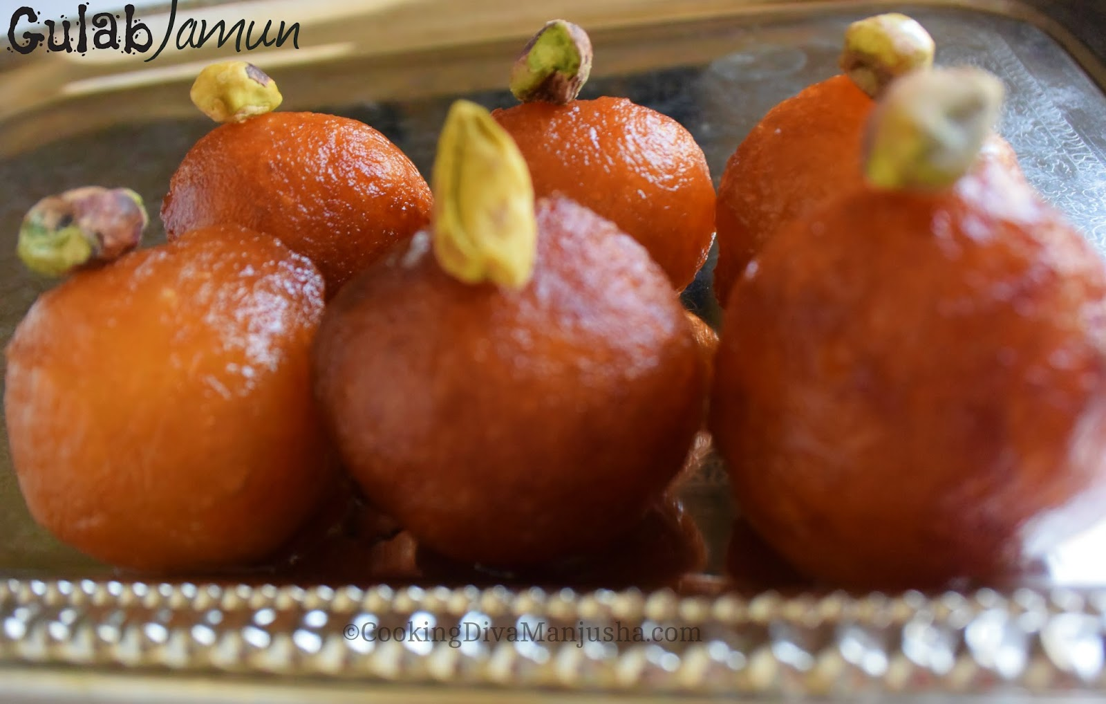 how to prepare gulab jamun in home