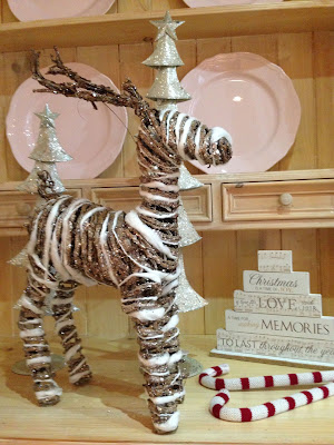 Decoración navideña con Renos