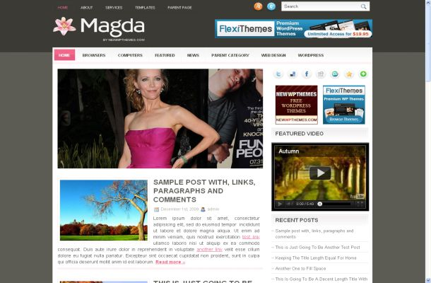 10 Best Free News WordPress Themes 2012