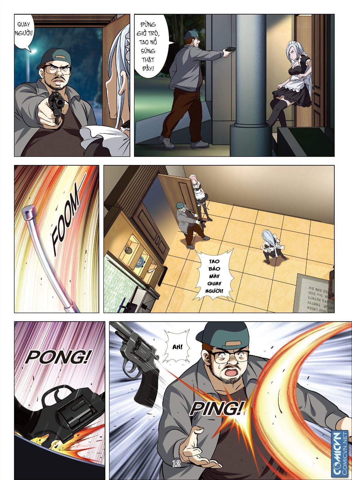 Bloody Girl chap 17.a page 12 - IZTruyenTranh.com