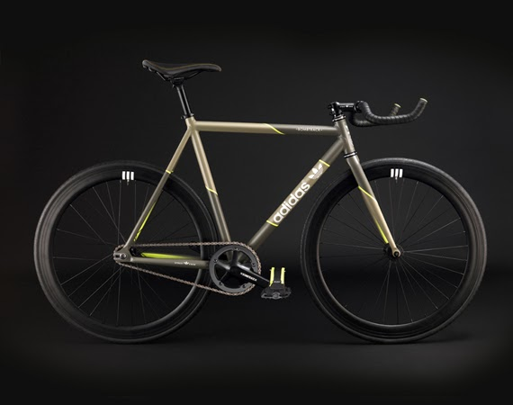 Adidas X BOMBTRACK Fixed Gear Bicycle