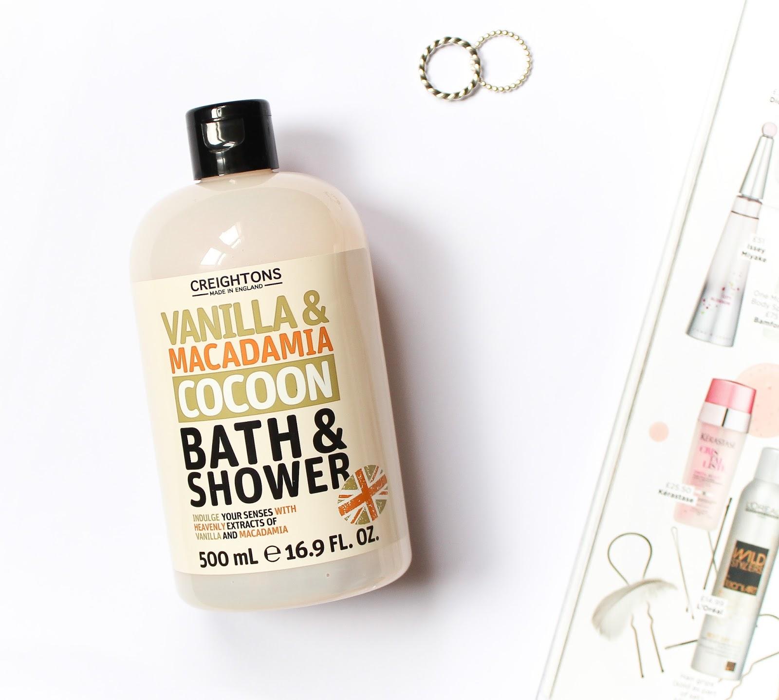 Creightons Vanilla Macadamia Bath & Shower Cream