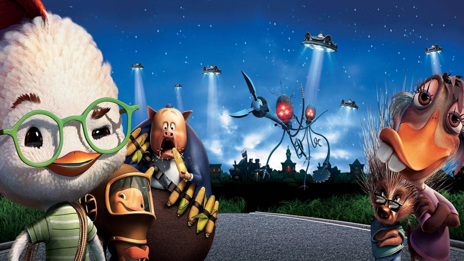 chicken+little+10 - İzlenesi Animasyon Filmleri - Top 10 - Figurex Sinema