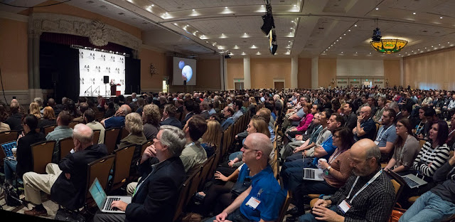 Attendees during the Opening Plenary Session at the American Astronomical Society's (AAS) 227th annual meeting at the Gaylord Palms hotel, Tuesday January 5, 2016. Credit: CorporateEventImages/Todd Buchanan 2016