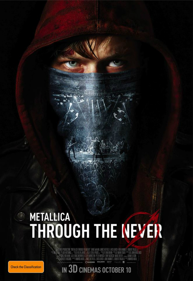 La película Metallica: Through the Never