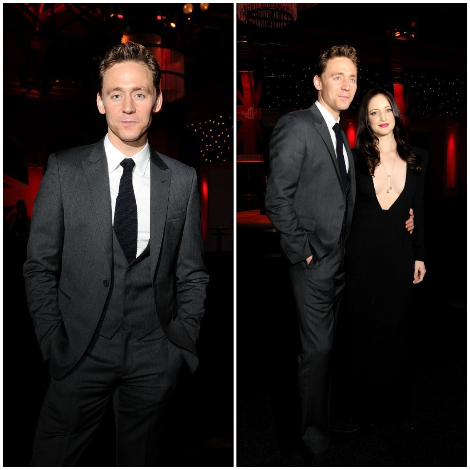 00O00 London Menswear Blog Tom Hiddleston in Emporio Armani - British Independent Film Awards