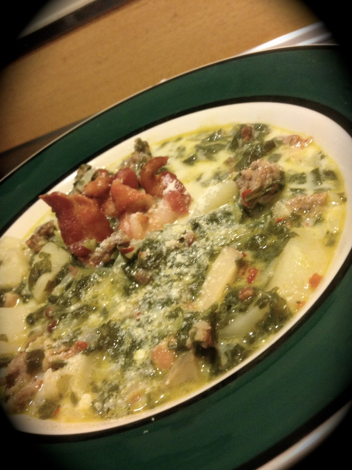 County Meanderings: Olive Garden Zuppa Toscana