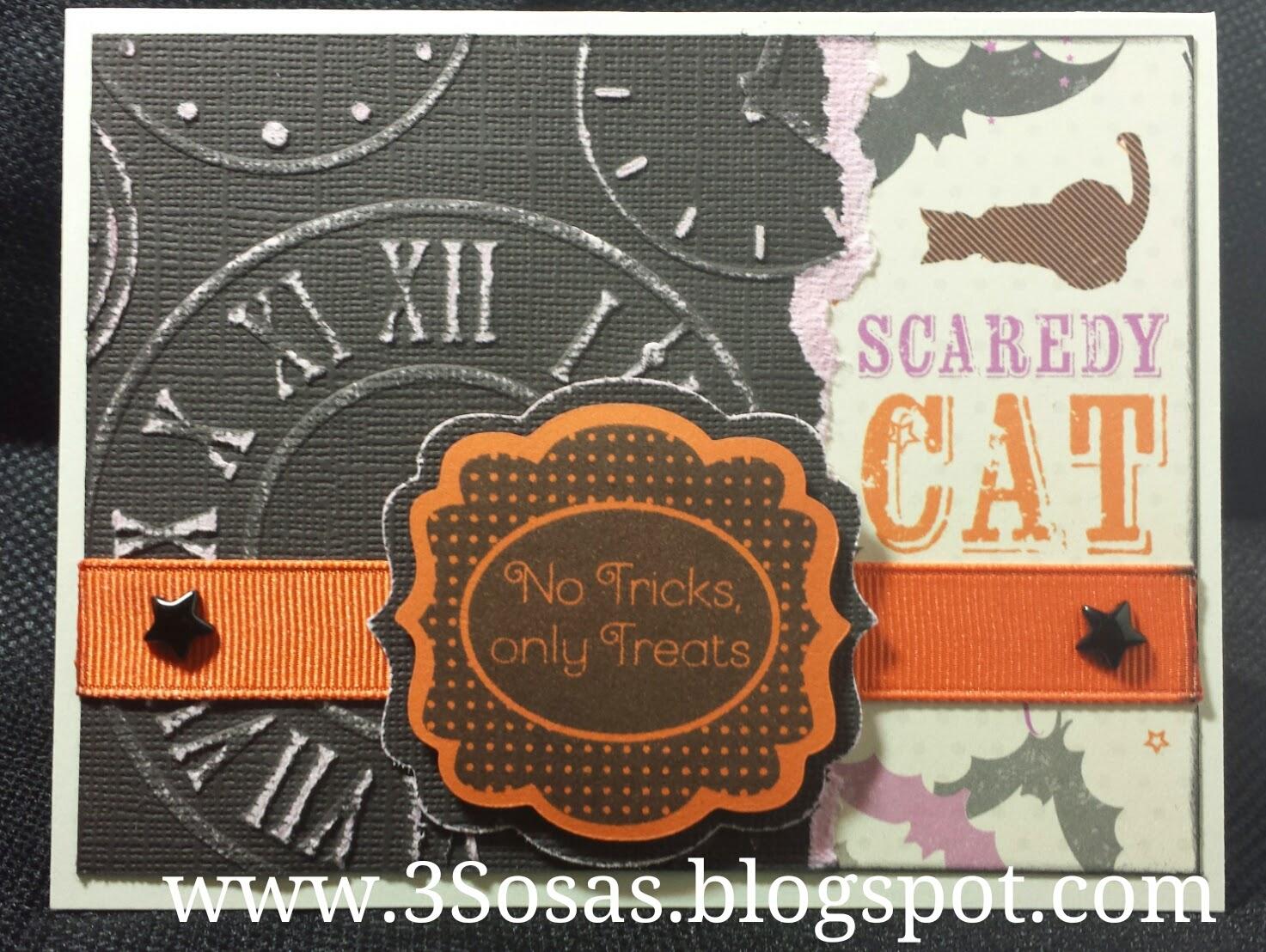 #CTMH #ScaredyCat #Card #Halloween