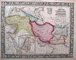 نقشه مستقل بلوچستان در سال 1860 م