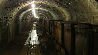 Mine de Kohtla - tunnel