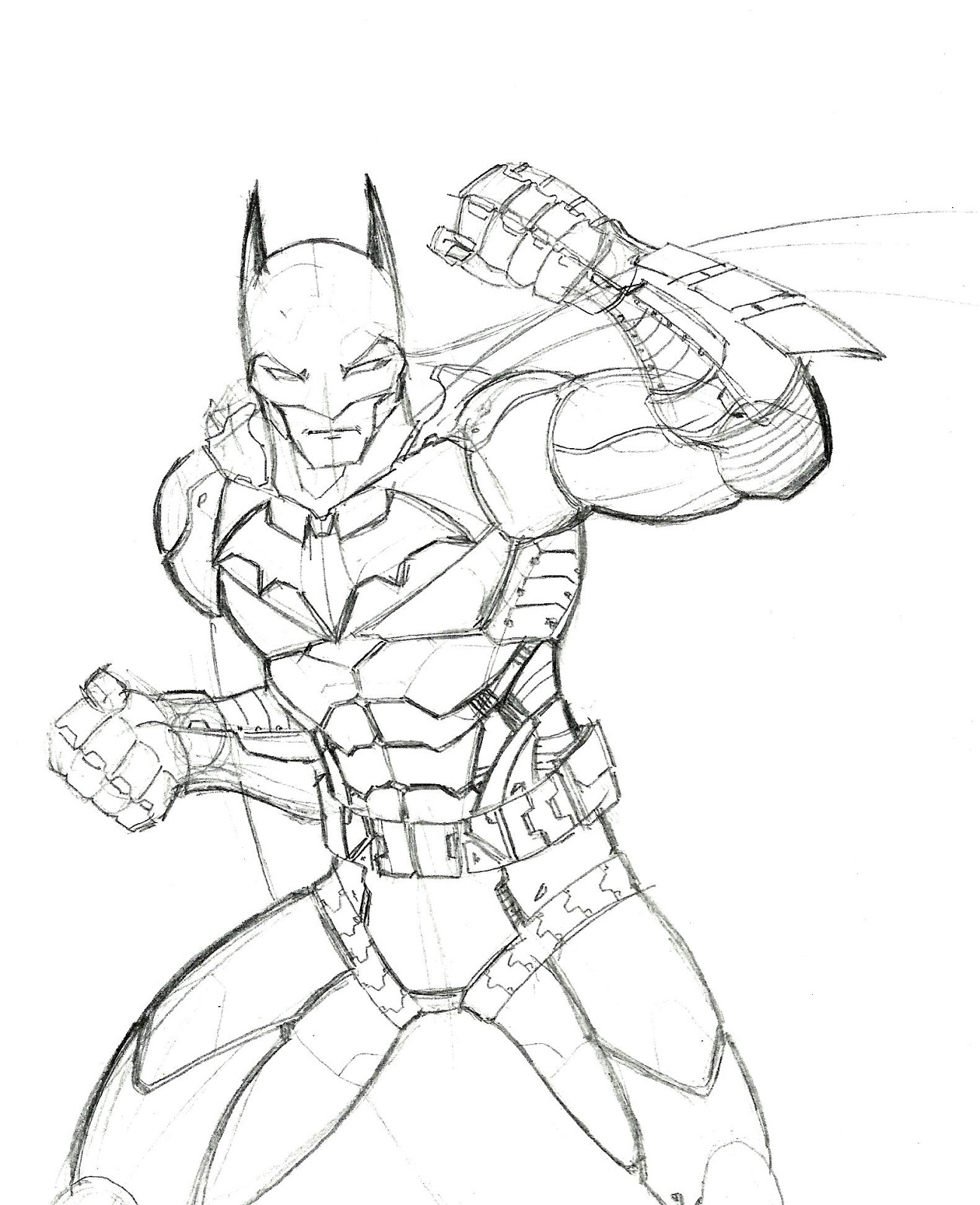 Robin Arkham Knight Coloring Pages