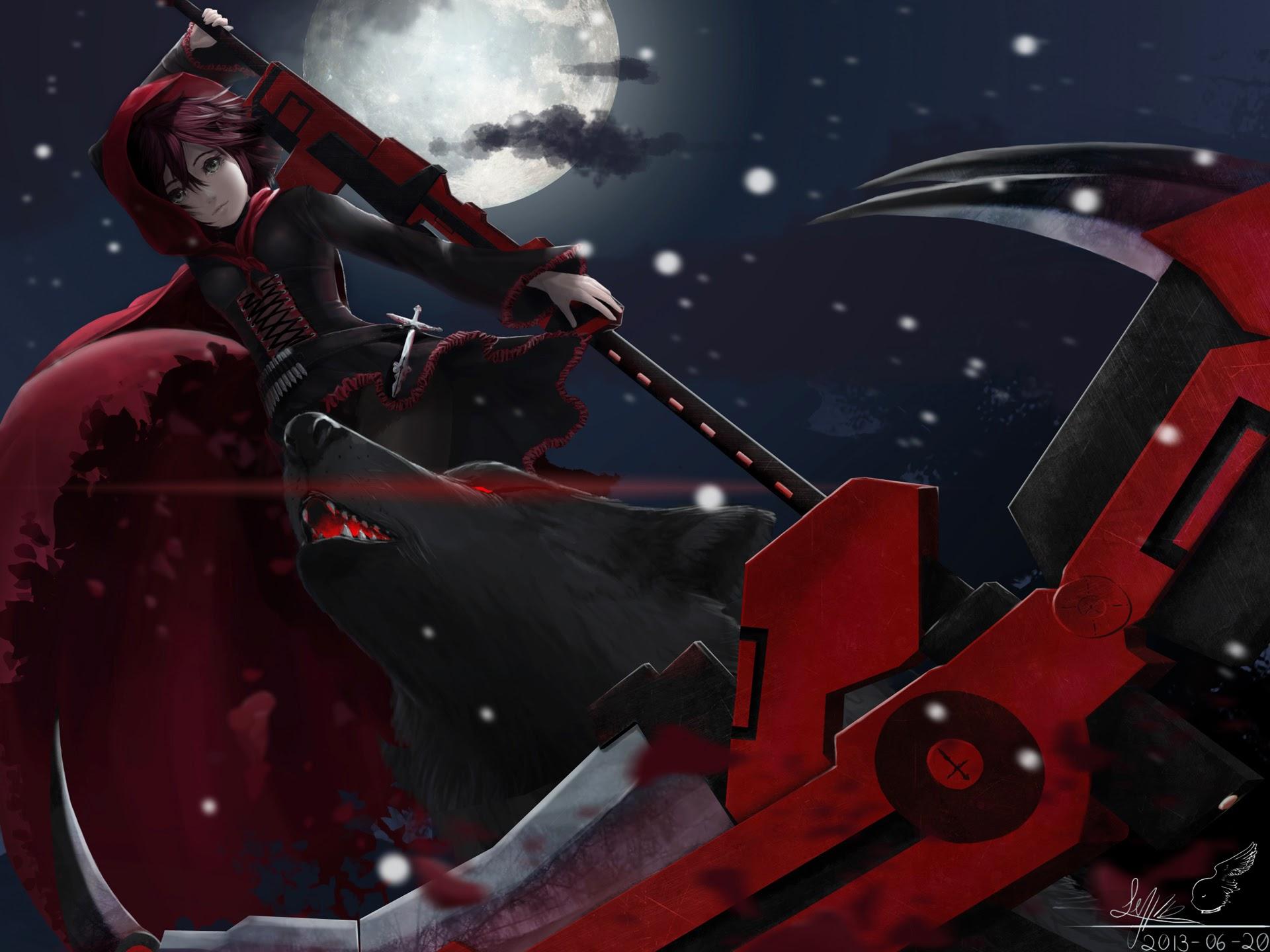 rwby anime scythe wallpaper - photo #25