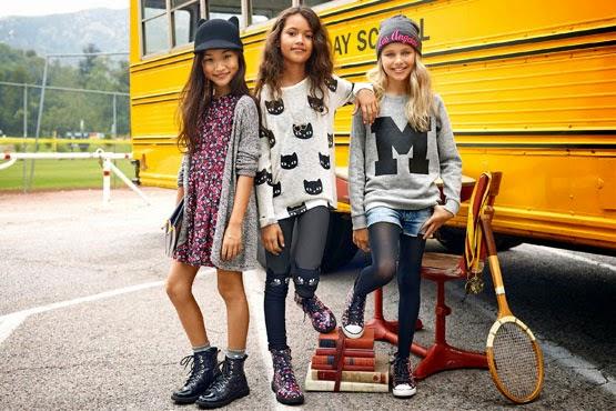 H&M niños otoño invierno 2014 2015